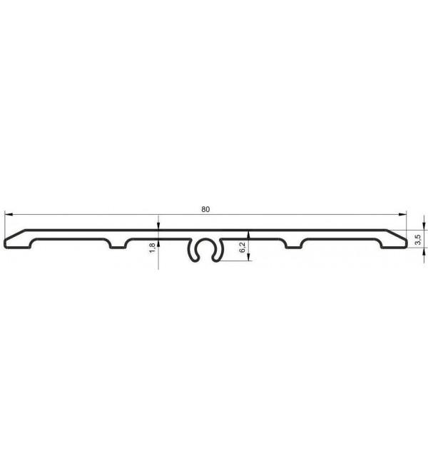 Профиль для керамогранита KSH-937