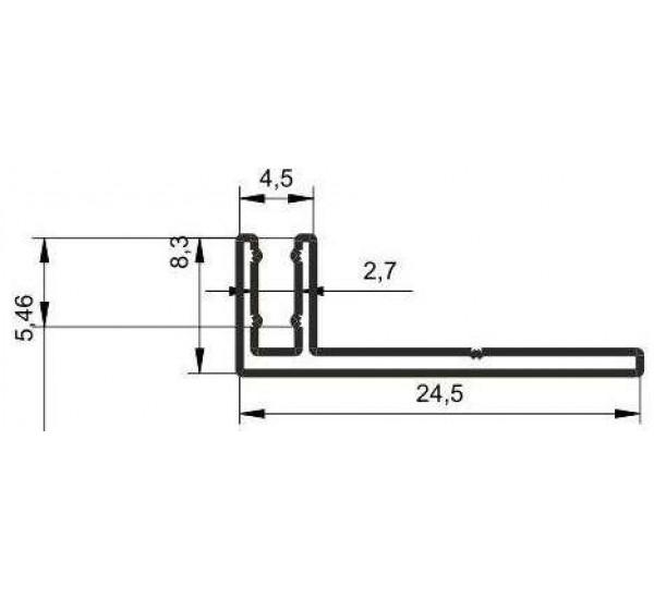 Крепление для профиля KT-1343