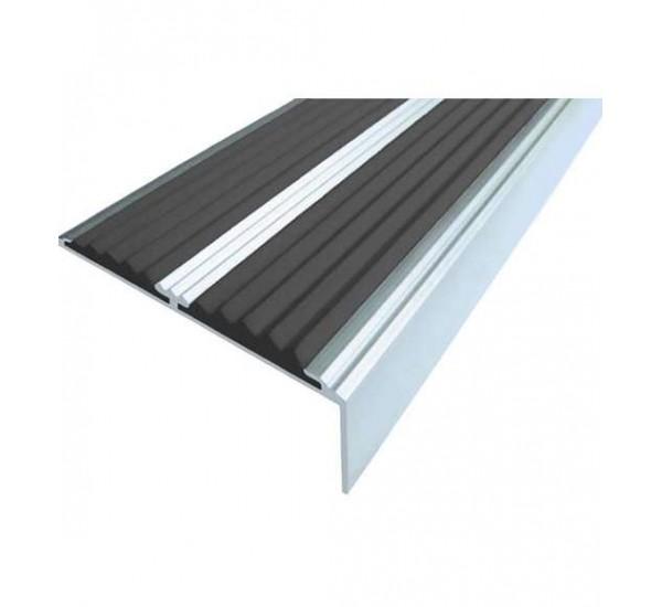 Алюминиево-резиновые накладки на ступени