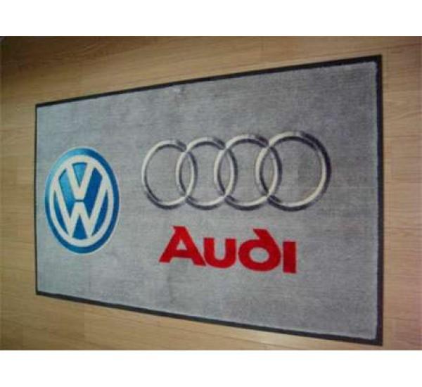 Грязепоглощающие ковровые покрытия с логотипом