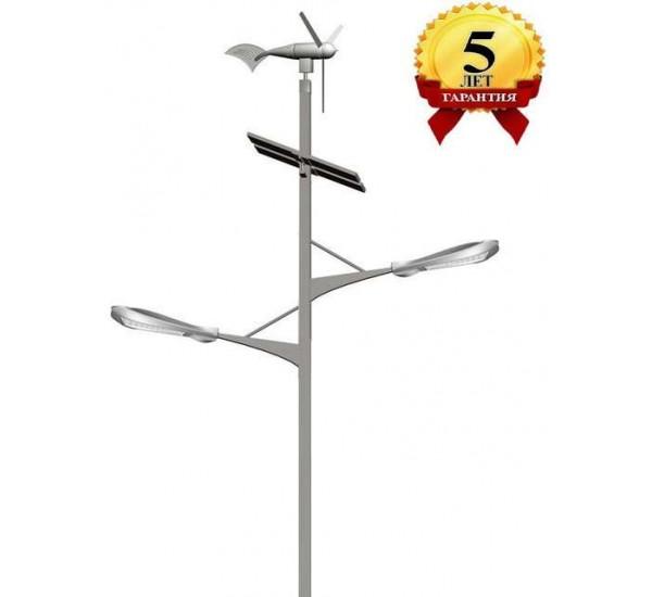 Комплект солнечного светильника марки Солярис L02-150W/80W-Dual