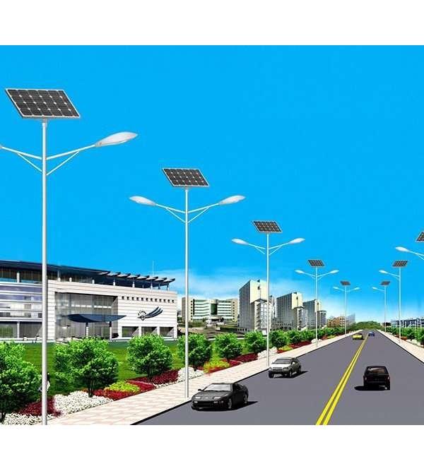 Комплект солнечного светильника марки Солярис L02-60W/60W-Dual