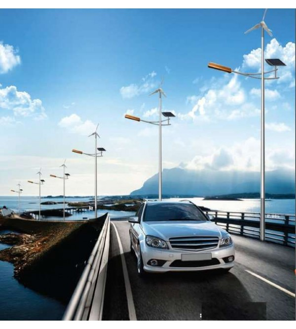 Комплект солнечного-ветрового гибридного светильника марки Солярис L03-150Wt-Hybrid
