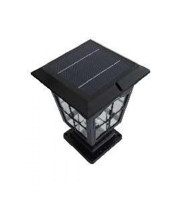 Солнечные светильники на опоры ограждений,забора, на столбы SOLARIS POLE-BS-3033-P