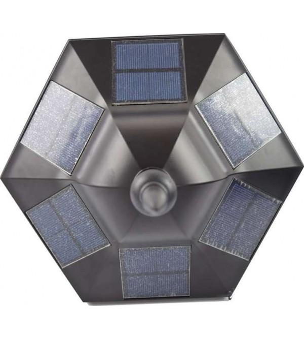 Солнечные светильники на опоры ограждений,забора, на столбы SOLARIS POLE-BS-3207-P