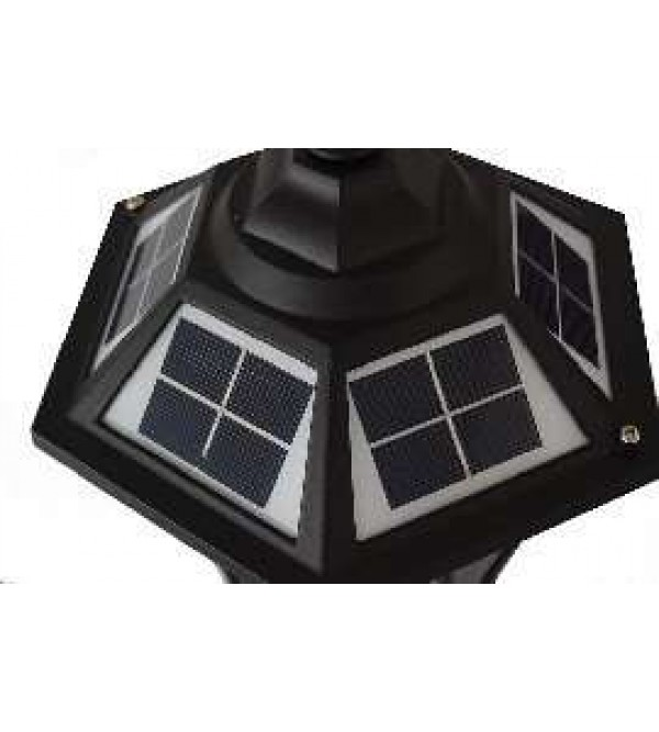 Солнечные светильники на опоры ограждений,забора, на столбы SOLARIS POLE-BS-3208-P