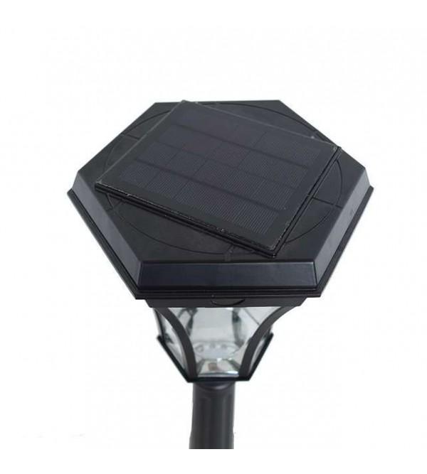 Солнечные светильники на опоры ограждений,забора, на столбы SOLARIS POLE-BS-3209-P