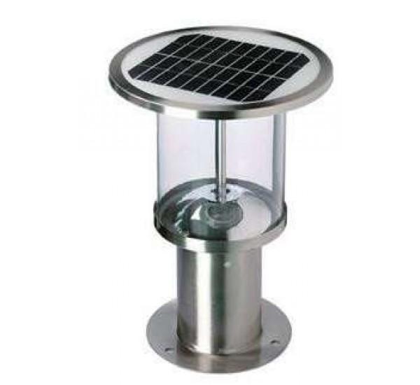 Солнечные светильники на опоры ограждений,забора, на столбы SOLARIS POLE-BS-4058-C-P