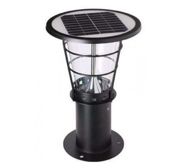 Солнечные светильники на опоры ограждений,забора, на столбы SOLARIS POLE-BS-4058-P