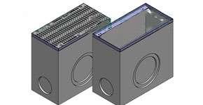 Дождеприемный колодец бетонный Betomax DN400