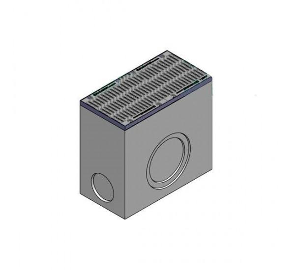 Дождеприемник BetoMax ДП-40.52.95-Б бетонный с решёткой щелевой чугунной ВЧ кл.F (комплект) 04871