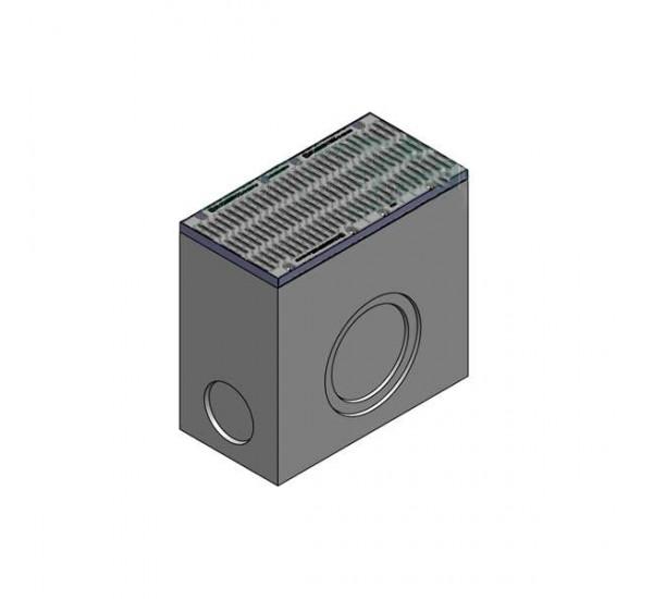 Дождеприемник BetoMax ДП-40.52.95-Б бетонный с решёткой щелевой чугунной ВЧ кл.Е (комплект) 04870