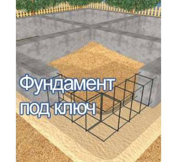 Залить фундамент в алматы, Ленточный фундамент под ключ в Алматы