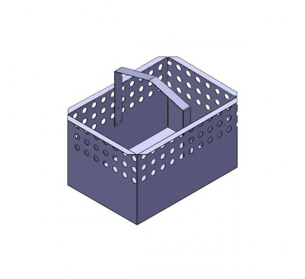 Корзина для дождеприемного колодца DN300 (нержавеющая сталь) 6979