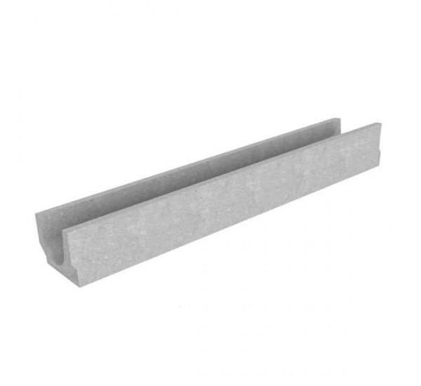 Лоток водоотводный бетонный BetoMax Basic DN100 H130 4000