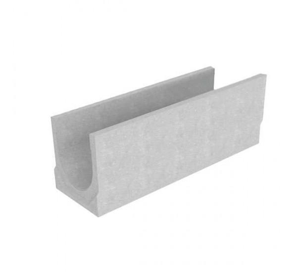 Лоток водоотводный бетонный BetoMax Basic DN300 без усиливающих насадок и решеток ЛВ-30.38.38-Б, 4709