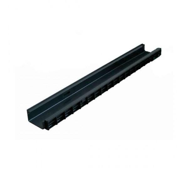 Лоток водоотводный пластиковый PolyMax Basic DN 100 H55 8050