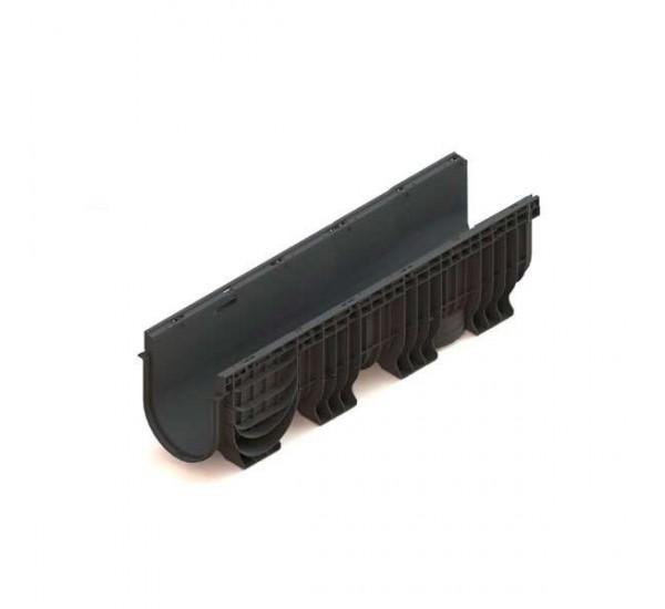 Лоток водоотводный пластиковый PolyMax Basic DN 200 H300 8560