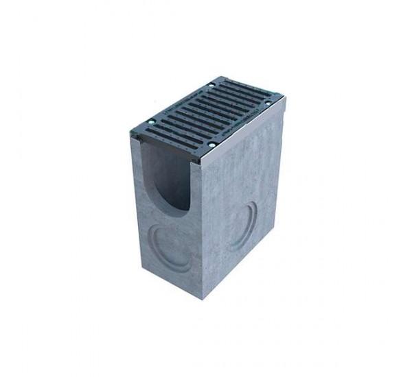Пескоуловитель бетонный BetoMax DN200 с чугунной решеткой (комплект) 045...