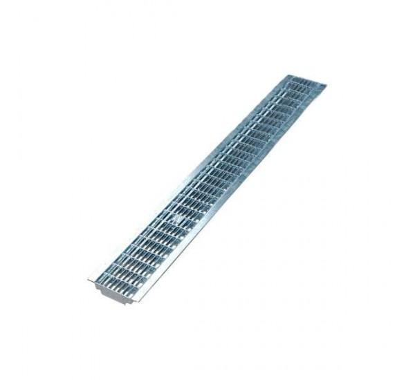 Решетка водоприемная Basic DN100 стальная ячеистая (оцинкованная) РВ-10.14.100 2020