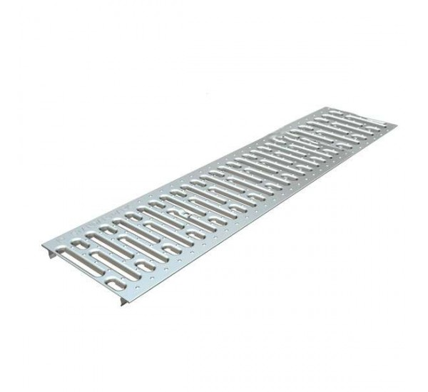 Решетка водоприемная Basic DN200 стальная штампованная (оцинкованная)