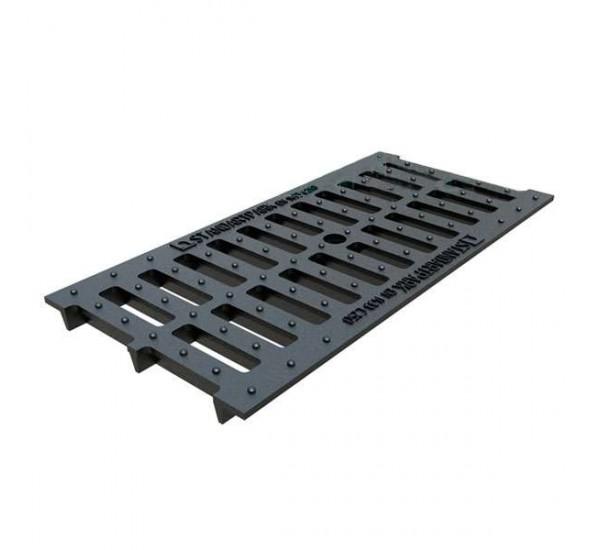 Решетка водоприемная Basic DN200 чугунная (щелевая) кл.С 25303