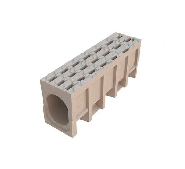 Водоотводный монолитный блок CompoMAX DN200
