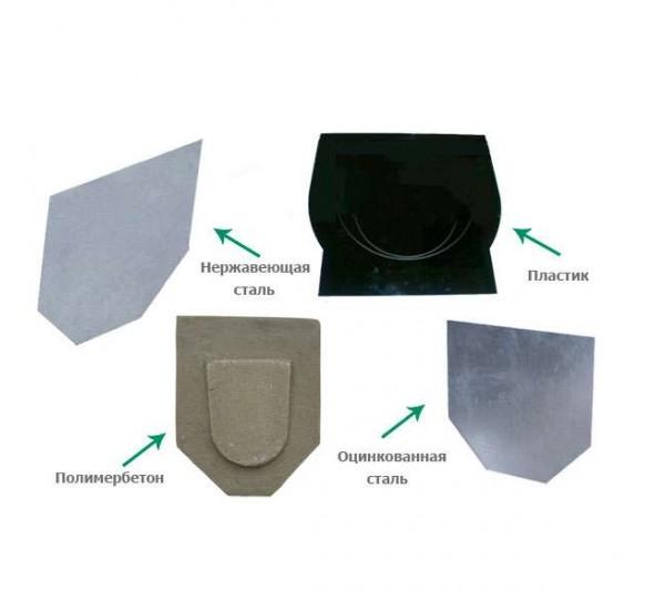 Переходник пластиковый для водоотводных лотков
